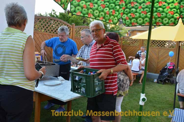Tanzclub Massenbachhausen, Helferfest, 2013, Grillfest