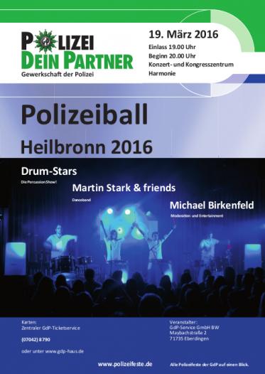 Polizeiball 2016 Heilbronn