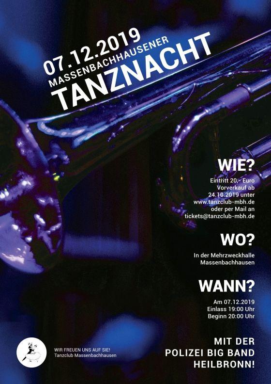 Tanznacht Massenbachhausen am 07. Dezember 2019